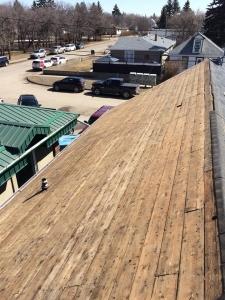 progress shot-moose jaw roofing company