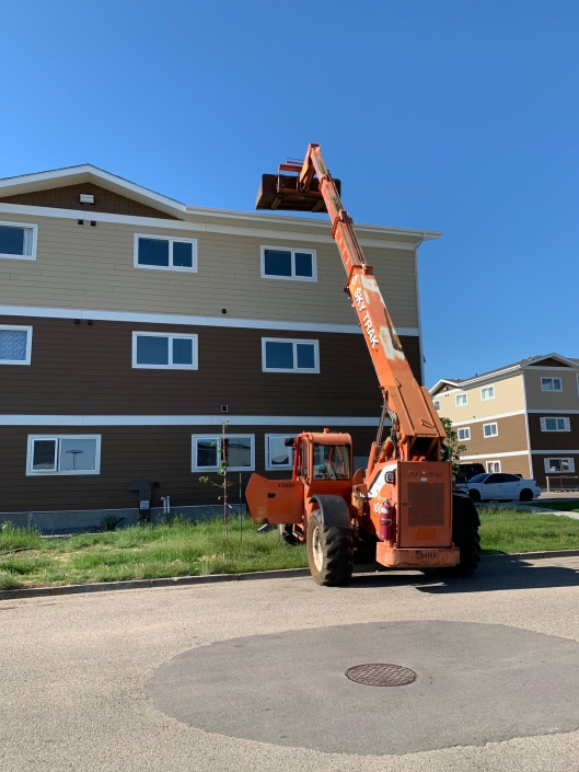 Roofing the Moose Jaw Housing Authority