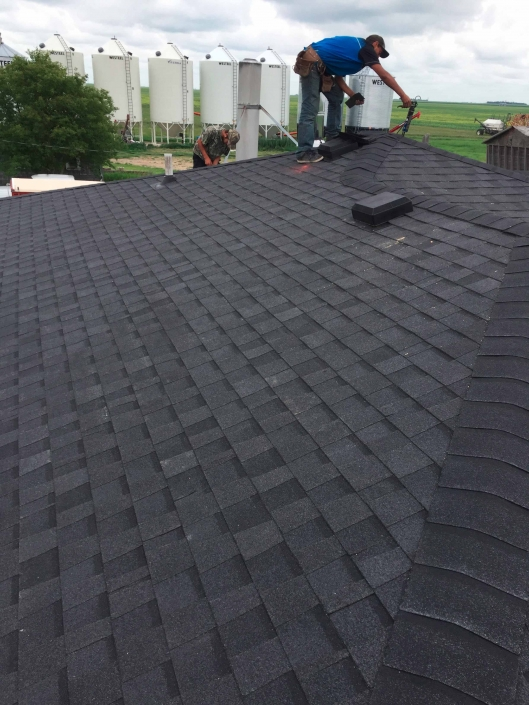 Shingled roof in Moose Jaw