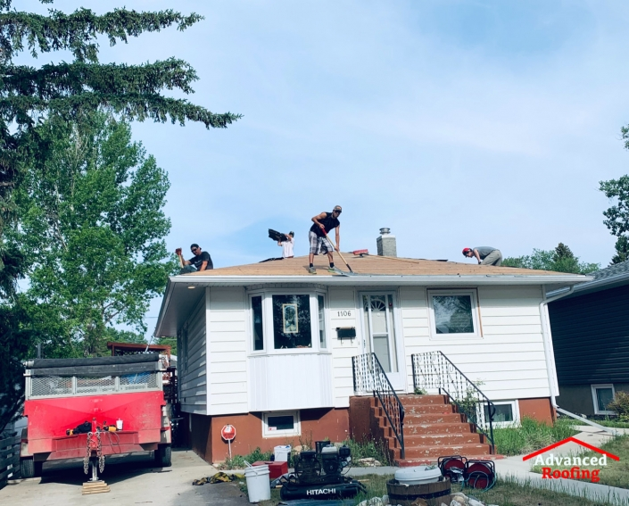 commercial roofing company moose jaw-advanced